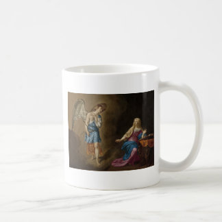Annunciation Angel and Virgin Mary Coffee Mug