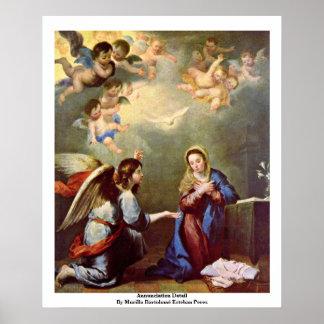 Annunciation Detail Poster