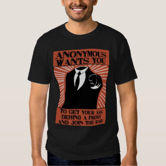 Anonymous_Propaganda_by_raithesheep T Shirt