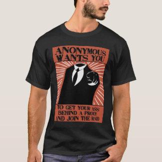 Anonymous_Propaganda_by_raithesheep T-Shirt