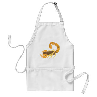 Another Gold and Brown Scorpion Standard Apron