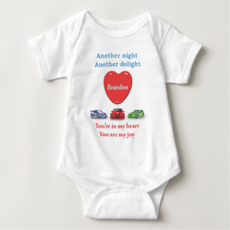 Another night another delight Brandon Baby Bodysuit
