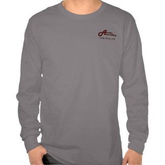 Anstey Accounting - Grey LS T-shirt