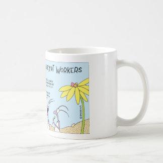 Ant egg hunt basic white mug