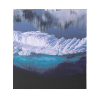 Antarctica, Paradise Bay. Iceberg in crystal Notepad