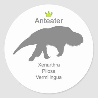 Anteater g5 classic round sticker