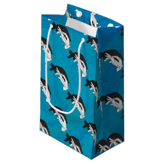 Anteater on Blue Small Gift Bag