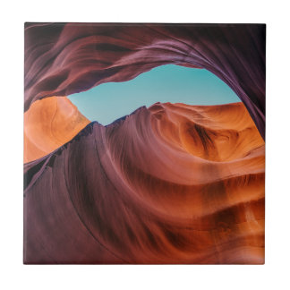 Antelope Canyon Small Square Tile