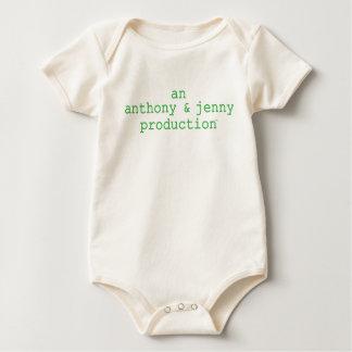 Anthony & Jenny Production Baby Bodysuit
