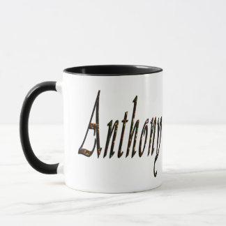 Anthony, Name, Logo, Black Combo Coffee Mug