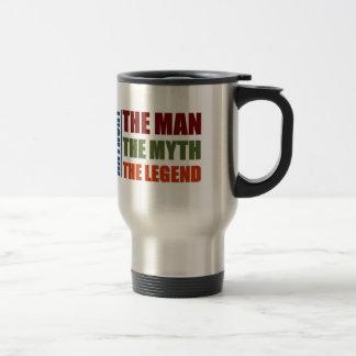 Anthony the man, the myth, the legend travel mug