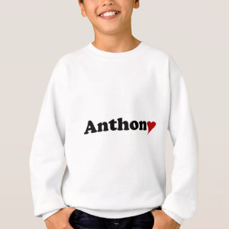 Anthony with Heart Sweatshirt