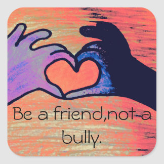 Anti-bullying stickers