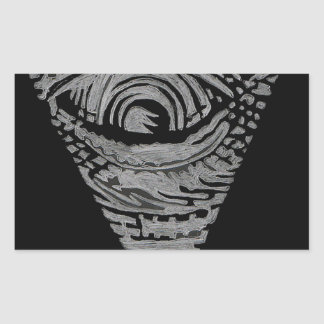 Anti-Illuminati Rectangular Sticker