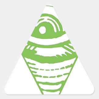 Anti-Illuminati Triangle Sticker