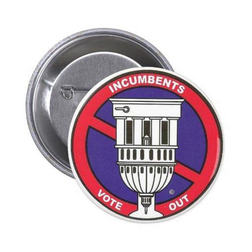 Anti incumbent term limit  button.