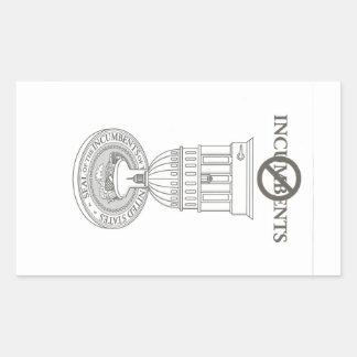 Anti incumbent term limit sticker