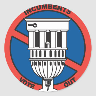 Anti incumbent term limit sticker