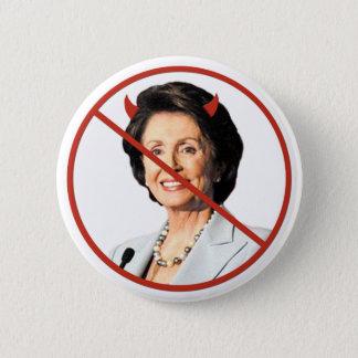 Anti Nancy Pelosi 6 Cm Round Badge