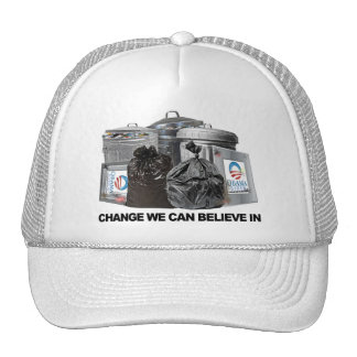 Anti Obama Change We Can Believe In Mesh Hat