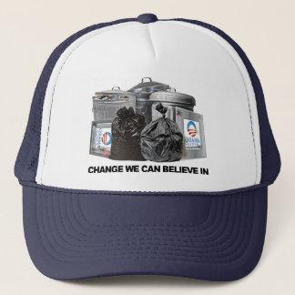 Anti Obama Change We Can Believe In Trucker Hat