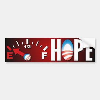 Anti Obama - Hope's Empty Bumper Sticker