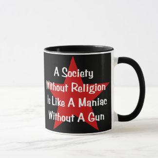 Anti-Religion Quote Mug