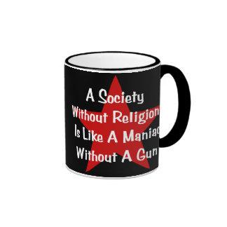 Anti-Religion Quote Ringer Mug