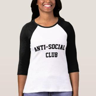 Anti Social Club Baseball Tee
