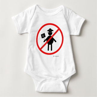 Anti teabagger baby bodysuit