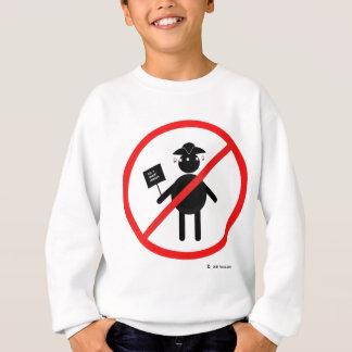 Anti teabagger sweatshirt