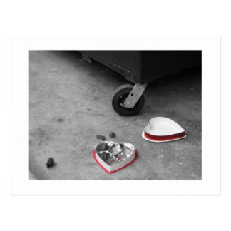 anti-valentine postcard