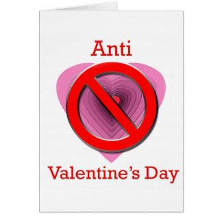 Anti-valentines Day Cards & Invitations | Zazzle.co.nz