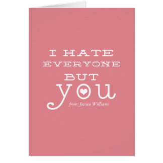Anti-Valentine's Day Cards