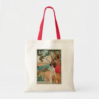 Antibes, France Vintage Travel Tote Bag