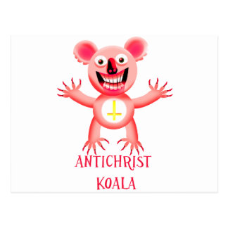 ANTICHRIST KOALA POST CARDS