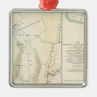 Antietam, Suffolk, Gettysburg Christmas Ornament