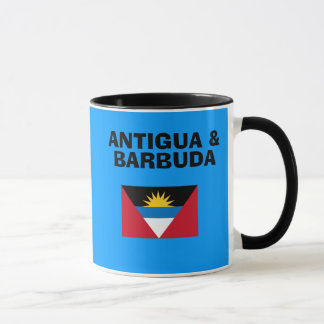 Antigua and Barbuda - Antigua  Country Code Mug