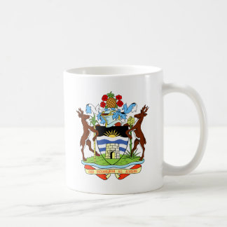 antigua and barbuda coat coffee mug