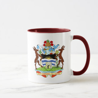 antigua and barbuda coat mug