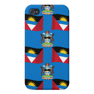 Antigua and Barbuda Crest iPhone 4/4S Covers