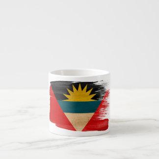 Antigua and Barbuda Flag Espresso Cup