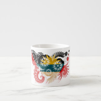 Antigua and Barbuda Flag Espresso Cup