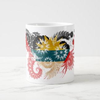 Antigua and Barbuda Flag Large Coffee Mug