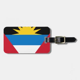 Antigua and Barbuda Flag Luggage Tag
