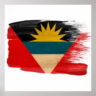 Antigua and Barbuda Flag Posters