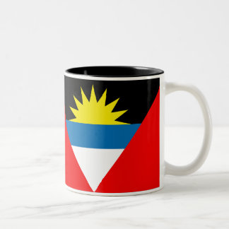 Antigua and Barbuda Flag Two-Tone Coffee Mug
