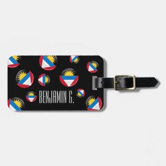 Antigua and Barbuda Luggage Tag