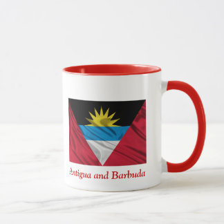Antigua and Barbuda Ringer Mug