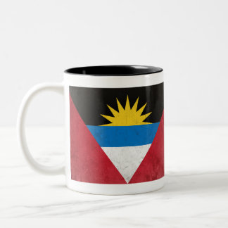 Antigua and Barbuda Two-Tone Coffee Mug